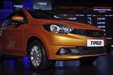 Since its launch in April, the Tiago has been averaging 3,000-plus units a month. Photo: Reuters