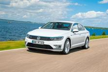 Volkswagen's Passat GTE can be charged from a power socket at home.