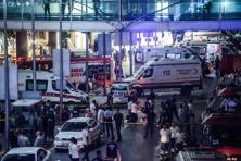 The vast majority of those killed were Turkish nationals but foreigners were also among the dead, the official said. Photo: AFP