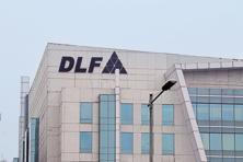 DLF Ltd's shares shot up by 7.83% on BSE on Wednesday.