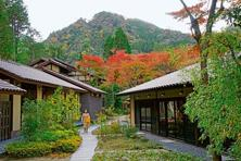A ryokan in the hot springs region of Japan. Photo: Wikimedia Commons