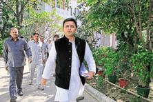 The Samajwadi Party (SP) government in Uttar Pradesh, led by chief minister Akhilesh Yadav, is looking for an image makeover ahead of the assembly elections early next year. Photo: HT