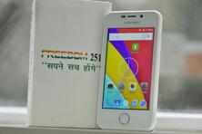 Ringing Bells' Freedom 251 smartphone, whose launch in February crashed the company's website, is priced at Rs251—possibly the cheapest Android smartphone in the world.  Photo: Priyanka Parashar/Mint