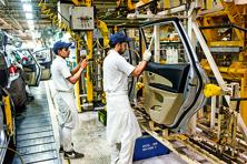 There was also broadly no change to manufacturing employment in India during June, the survey showed.  Photo: Bloomberg
