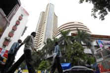 GAIL India Ltd and Power Grid Corp. were the biggest decliners on the S&P BSE Sensex. Photo: Abhijit Bhatlekar/Mint