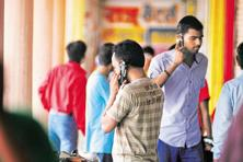 As CDMA subscribers migrate to less-efficient 1,800MHz for voice services, they could be poached by the top three mobile service providers—Airtel, Vodafone and Idea—the very same companies that battled over CDMA and GSM almost a decade ago. Photo: Pradeep Gaur/Mint
