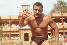 Salman Khan in a still from 'Sultan'