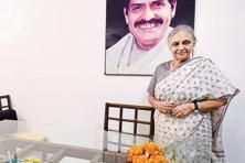 "Sheila Dikshit says the prospect of leading the Congress party in Uttar Pradesh is ""exciting"". Photo: PTI"
