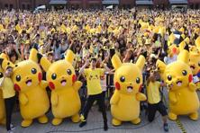 Catching Pokémon has become cool once again. Photo: AFP