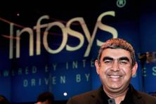 Vishal Sikka, chief executive officer, Infosys. Photo: PTI