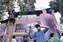 Aurora Talkies will run six shows of Rajinikanth's 'Kabali' through the day, including one as early as 6 am. Photo: Aniruddha Chowdhury/Mint