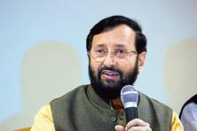 A file photo of HRD minister Prakash Javadekar. Photo: Hindustan Times
