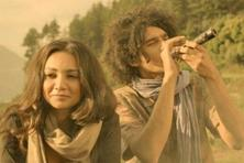 Imaad Shah (right) and Ira Dubey in a still from 'M Cream'