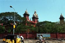 "A file photo of the Madras HC. The court notification making amendments to existing rules under the Advocates Act was aimed at ensuring ""peaceful"" conduct of court proceedings. Photo: HT"