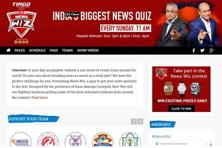 The news quiz show has schools from across India participating and 600 schools have supposedly sent in entries.