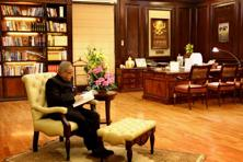 Analysts say Pranab Mukherjee has largely been an effective President, who has conducted himself in a statesmanly manner. Photo: HT