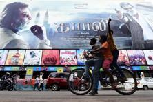 'Kabali' made <span class='WebRupee'>Rs.</span>3.82 crore over the weekend in Chennai, which is the smallest territory in film trade in the state but showcased the Rajinikanth-starrer on 96.5% of its screens. Photo: PTI