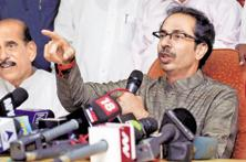 BJP leaders in Maharashtra say Thackeray's criticism is linked to civic polls in Mumbai and other major cities in Maharashtra, due in around six months.  Photo: PTI
