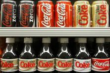 Coca-Cola first launched its flagship low-calorie drink—Coca-Cola Zero or Coke Zero—in September 2014. Photo: Bloomberg