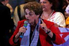 "Brazil's president Dilma Rousseff remains suspended on corruption charges, robbing the world of possibly its most colourful female leader—a former Marxist guerilla against the right-wing Brazilian dictatorship, newspaper editor and a woman once described by a prosecutor as the ""Joan of Arc of subversion"". Photo: Reuters"