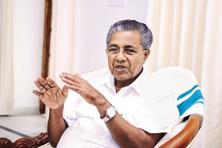 In his first meeting with PM Narendra Modi after coming to power in May, Kerala chief minister Pinarayi Vijayan (above) had said that both CPM and RSS, the ideological parent of BJP, should restrain their workers from engaging in conflicts. Photo: Ramesh Pathania/Mint
