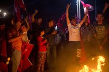 File photo of Erdogan supporters burning an effigy of Fethullah Gulen.  The recent failed coup has strengthened the state's hand in crushing all opposition. Photo: Bloomberg