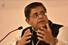 Jay Panda has been using the #HeardInCentralHall hashtag to give constant updates during Parliament sessions since February last year including those on new members of Parliament and party strategies. Photo: Gurinder Osan/ Hindustan Times