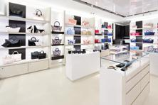 The Longchamp store at DLF Emporio mall in New Delhi.