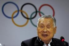 Yoshiro Mori, head of the Tokyo Olympics organising committee, announces new sports for the 2020 event. Photo: Reuters