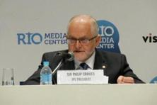 International Paralympic Committee president Philip Craven speaks during a news conference in Rio de Janeiro, Brazil. Photo: Reuters