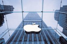 Apple has used flagship stores in New York, Tokyo and Shanghai to boost sales, but in India it sells through partners such as Redington India. Photo: Bloomberg