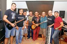 (Left to right) Ankur Samtaney, Arvind Sankaran, Turjo Mukherjee, Satchit Joglekar, Sameer Dev, Vish Srinivasan, Shireesh Joshi and Bipin Balakrishnan. Courtesy: Bandwidth