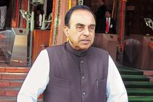 Subramanian Swamy, in a letter to the PMO, had said the data management for computation of tax under GST will be done by GSTN while questioning the 2013 decision of the finance ministry to outsource such activity to the private sector.  Photo: HT