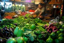 Lack of basic infrastructure puts further strain on the arrivals of vegetables which result in more wastage of vegetables during peak time of production and because of their perishable nature producers have to sell immediately. Photo: Mint
