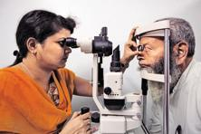 Aravind Eye Hospital's unique business model, which draws on a for-fee plan to fund its free services, makes the solution for eye care a typically Indian blend of the Promethean and Gandhian models. Photo: Reuters