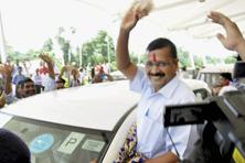 Delhi chief minister Arvind Kejriwal on Monday said that the government will continue its fight for statehood for Delhi. Photo: PTI