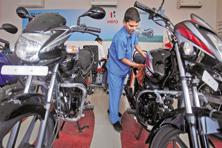 A Hero MotoCorp dealer has said his dealership is currently holding two months of inventory and that this may go up to three months. Photo: Reuters