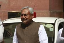 A file photo of Bihar CM Nitish Kumar. Bihar's legislative assembly and council approved the landmark legislation, making it only second to BJP-ruled Assam which ratified it last week. Photo: Virendra Singh Gosain/HT