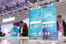 Samsung continues to be the market leader with the biggest share of 22.3% and unit sales of about 78 million, according to a report by Gartner Inc. Photo: Reuters