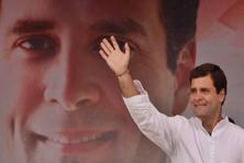 Rahul Gandhi on Saturday made a veiled attack on the Bharatiya Janata Party and the Sangh Parivar, saying there are forces which are promoting disharmony and are seeking a 'divided and divisive' India. Photo: Hindustan Times