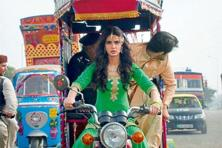 A still from the Diana Penty-starrer Happy Bhag Jayegi.