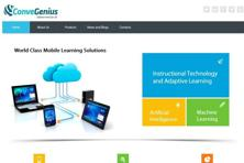 Using data analytics, ConveGenius is able to provide customized learning recommendations.