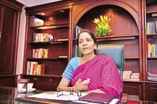 Nirmala Sitharaman said she will take up the matter with the finance minister about directing banks to pass on benefits of the rate cuts to the industry. Photo: Pradeep Gaur/Mint