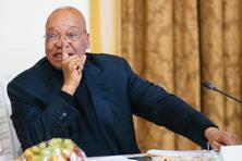 President Jacob Zuma of South Africa. Turmoil among South Africa's political leadership prompted such a drop in the rand against the dollar this week that it cut the return on this quarter's best carry trade in half from 10%. Photo: Bloomberg
