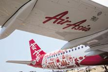 Group chief executive Tony Fernandes, AirAsia chief executive officer Aireen Omar and other senior officials highlighted the company's plans at a briefing for analysts last week.  Photo: Bloomberg
