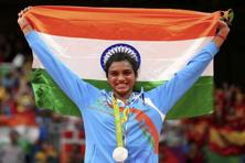 P.V. Sindhu and wrestler Sakshi Malik were the only medal winners for India at the Rio Olympics. Photo: Reuters