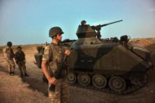 Turkish special forces, tanks and warplanes launched the incursion in support of Syrian rebels, mostly Turkmen and Arab, who quickly took the border town of Jarablus from Islamic State. Photo: AFP
