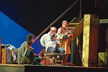 Barff: The play, directed by Saurabh Shukla, is set in Kashmir.