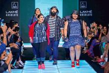 Shilpa Chavan curated the much-publicized plus-sized fashion show, the first such in the country.