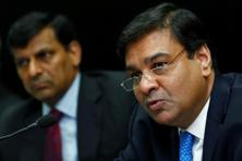 A file photo of Reserve Bank of India governor Urjit Patel (right) and former governor Raghuram Rajan. Photo: Reuters